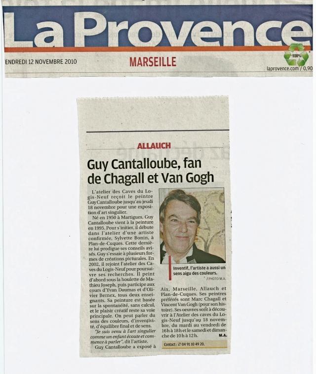 Guy Presse La Provence
